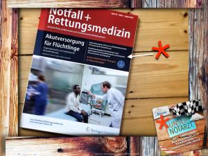 Unser Artikel in der Zeitschrift Notfall- und Rettungsmedizin